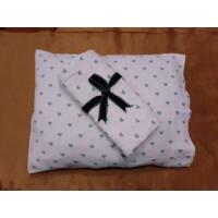 Bebek Battaniyesi ve yastık Takım